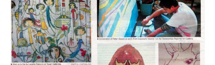 Art Review Chronicle Feb 2013 – TOSARI ART GALLERY