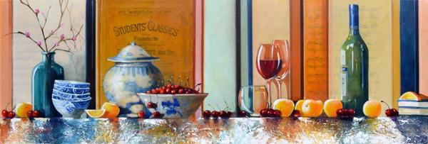 Still Life of Cherries