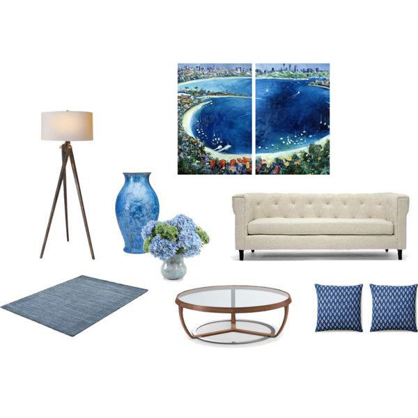 Watson's Bay Sydney in blue room.