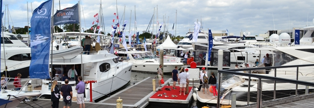 Photos from this years International Boat Show 2013