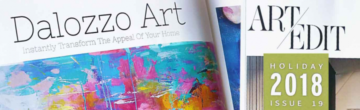 Our Fine Prints in Interior Design Magazine
