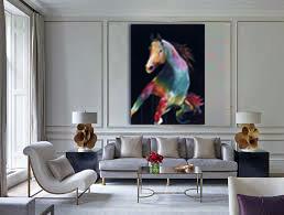 livingRoom_Contemporary Horse