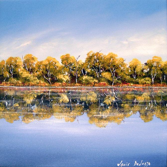 Noosa River Reflection