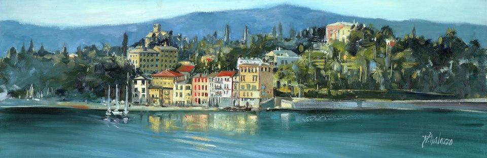 riviera liguire coastline