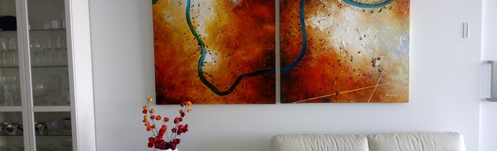 Our art in real homes.