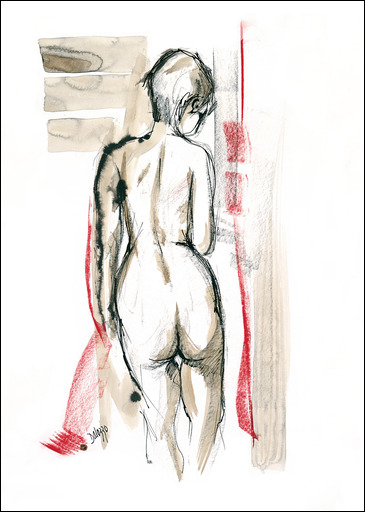 Nude-Red-2-Lucette-Dalozzo